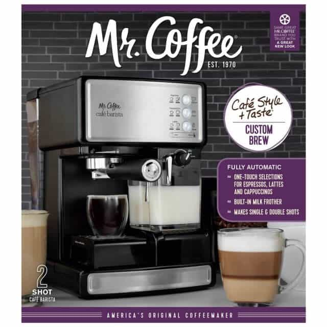 Mr Coffee Cafe Barista Review And Giveaway Steamy