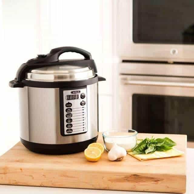 bella pressure cooker review giveaway