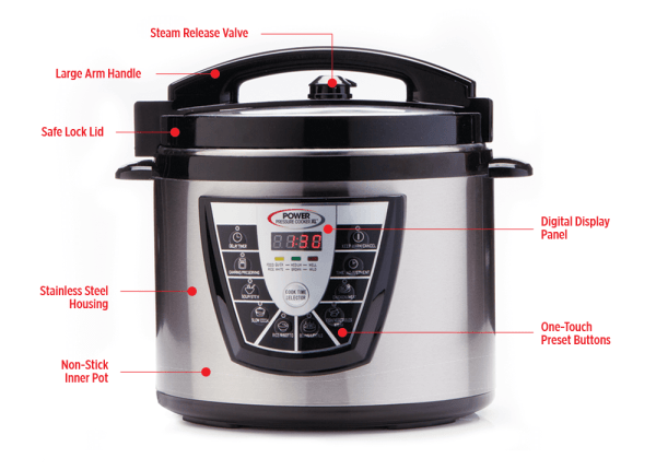 Power Pressure Cooker XL Review & Giveaway • Steamy ...