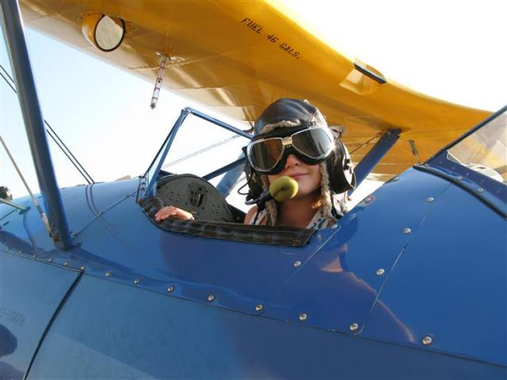 Heidi Stearman cockpit 2010