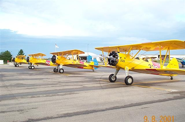 Navy Stearmans at Canton II