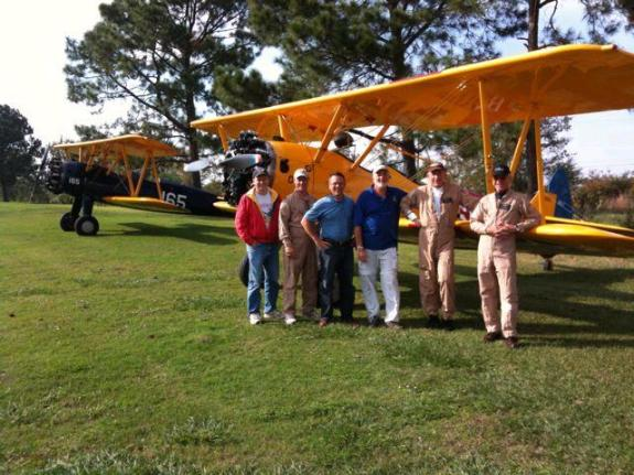 Stearman Flight Covey Trails