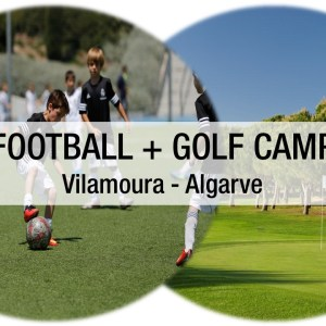 Real Madrid Football Clinic & Golf Camp Vilamoura (5 days in October- half of the day Football and the other Golf)