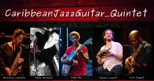 Caribbean jazz guitar quintet