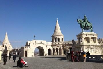 Fiskebastionen, Budapest, Ungarn.