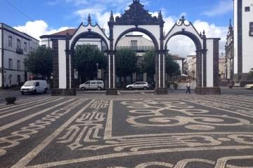Byporten, Ponta Delgada, Sao Miguel, Azorerne, Portugal.