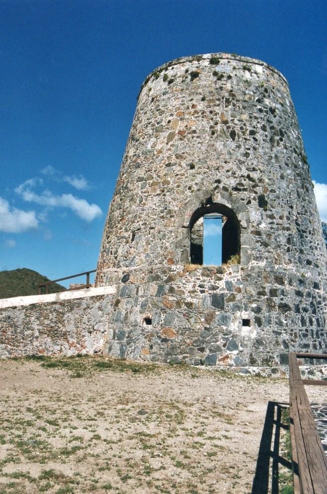 Annaberg Sugar Mill, St. John, US Virgin Islands.