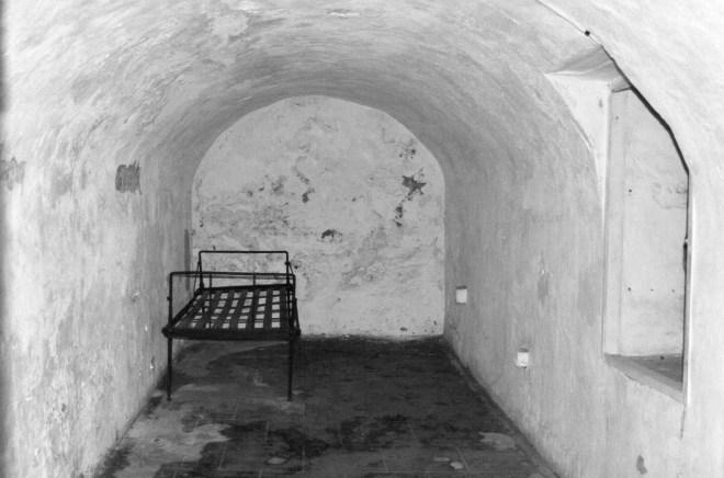 Fangehul under Fort Christian, Charlotte Amalie, St. Thomas, US Virgin Islands.