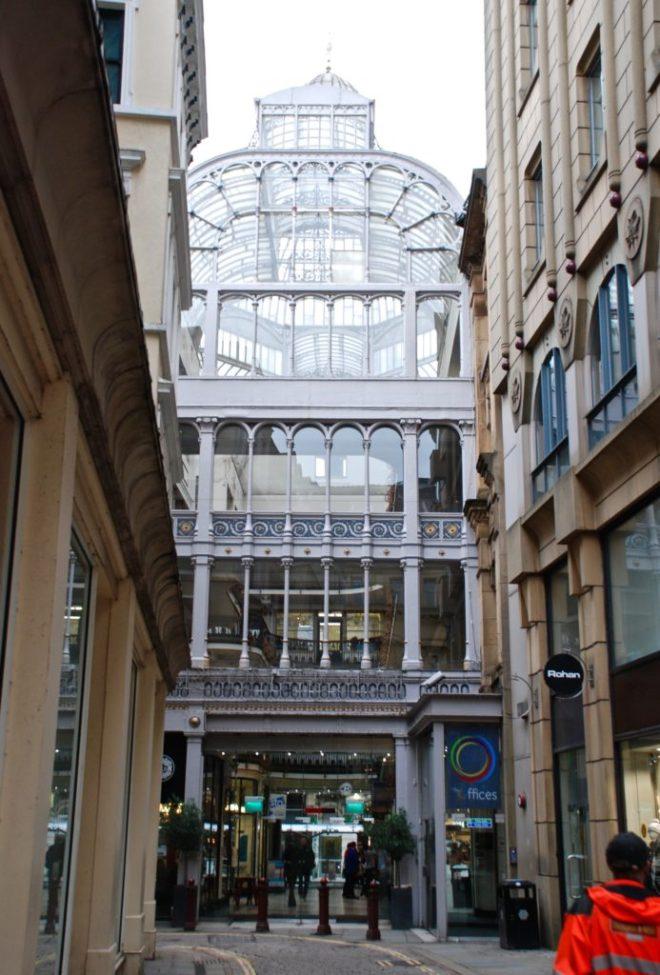 Barton Arcade, Manchester, England.