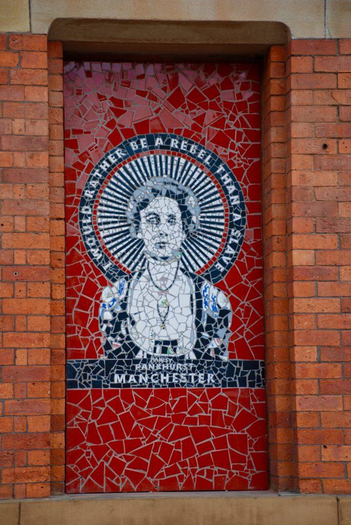 mosaikker gadekunst street art Manchester