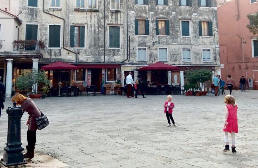 Venedigs skjulte legepladser.