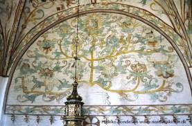 Saltum Church murals.
