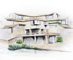Architectural rendering sample