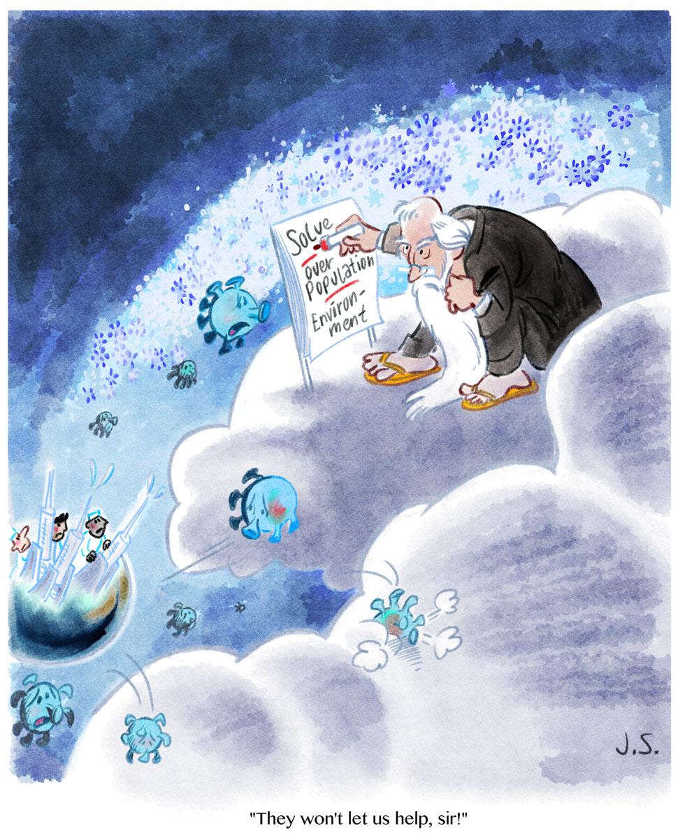 God cartoonboek
