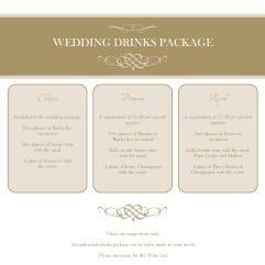 Pavilion Wedding Brochure