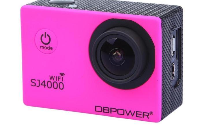 DBPOWER SJ4000 WiFi Camera steelasophicals