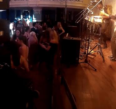 Steelasophical Steel Band Oxford Brookes Freshers Ball Steelpan band