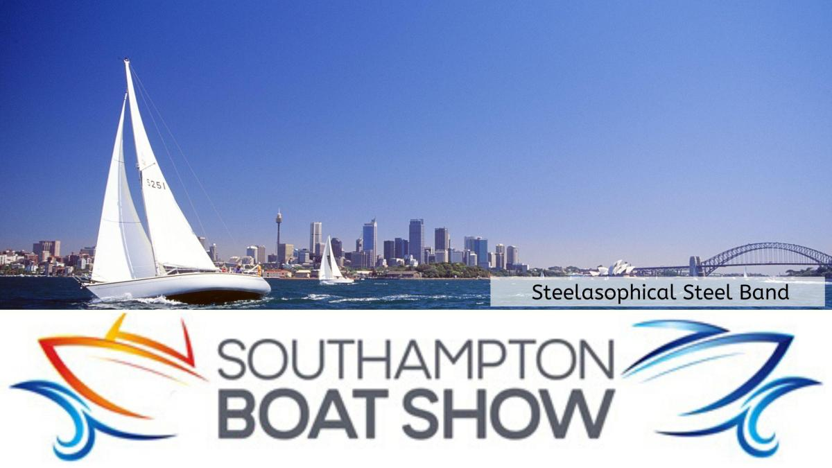 Steelasophical Steel Band Southampton Boat Show Yacht Market 2017