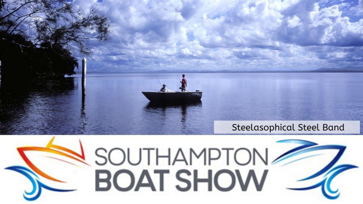 Steelasophical Steel Band Southampton Boat Show Yacht Market dt3t