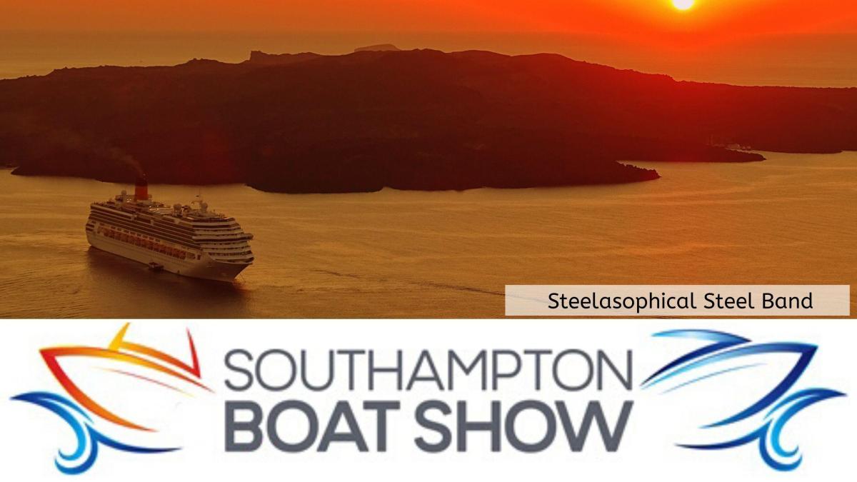 Steelasophical Steel Band Southampton Boat Show Yacht Market RFVE