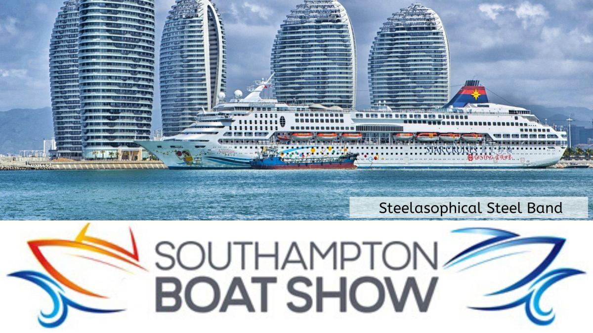 Steelasophical Steel Band Southampton Boat Show Yacht Market 001VV