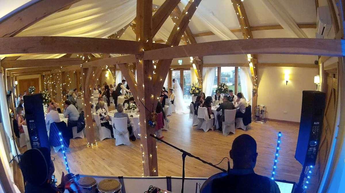Bassmead Manor Barns Steelasophical wedding Steelband
