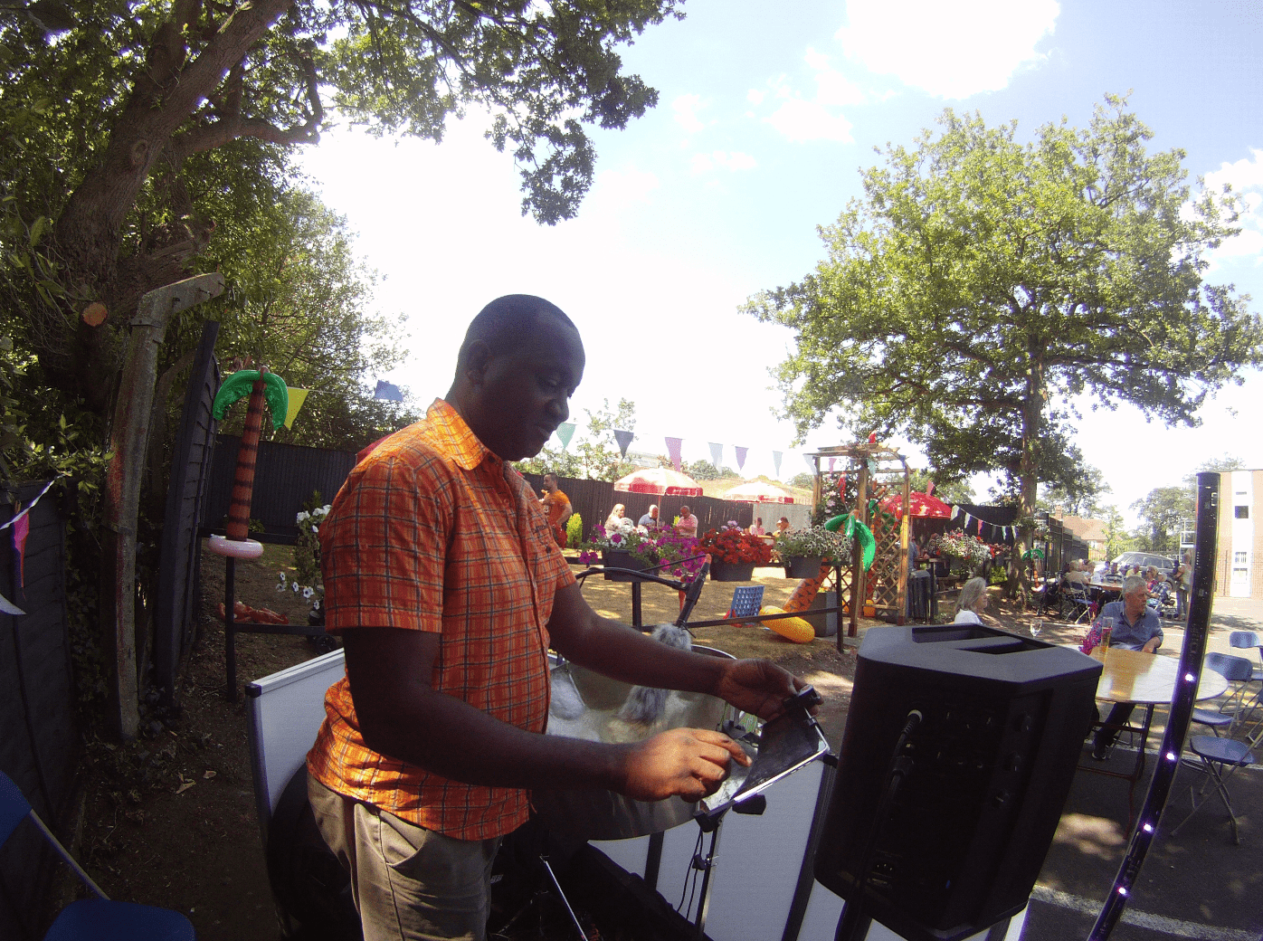 Steelasophical Steel Band Dj Sunninghill Comrades Club BBQ