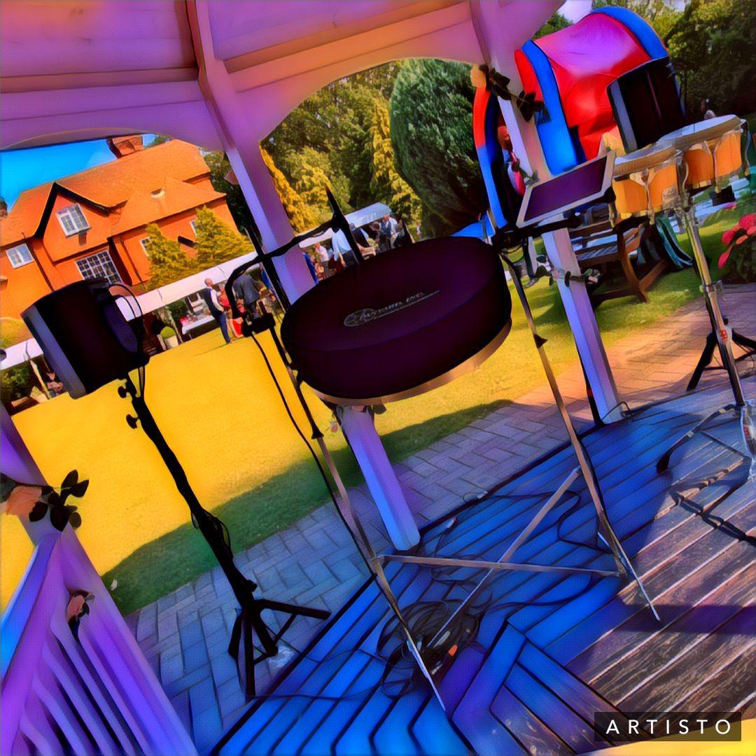 steel band Steelasophical SteelBand Caribbean Dj 01 wycombe