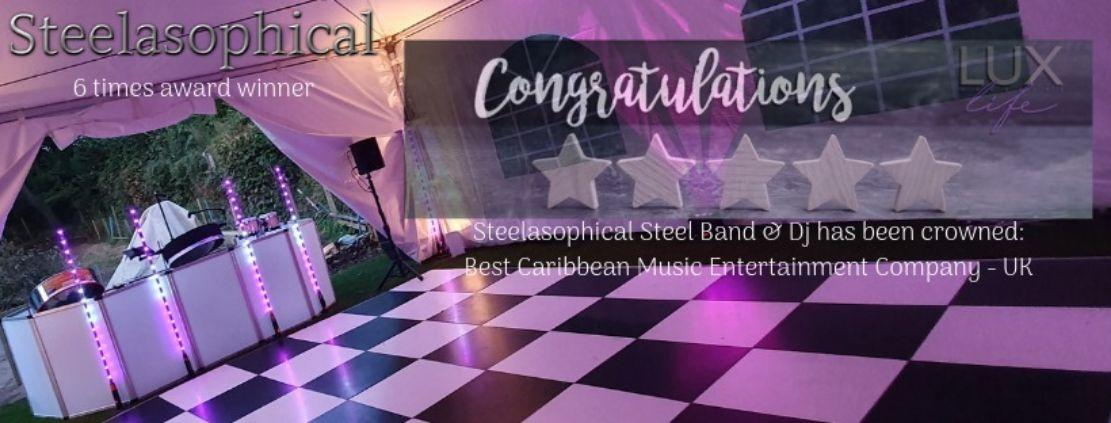 Steelasophical steel band award winning