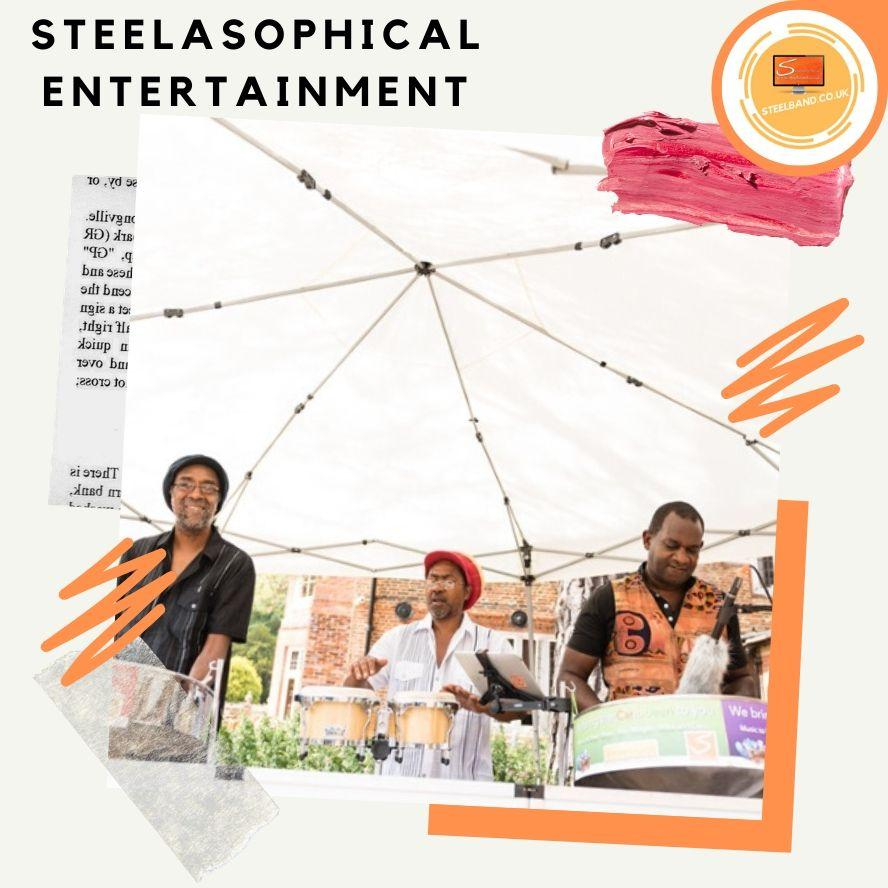 Steelasophical Steelband steelpan steeldrums for hire 001