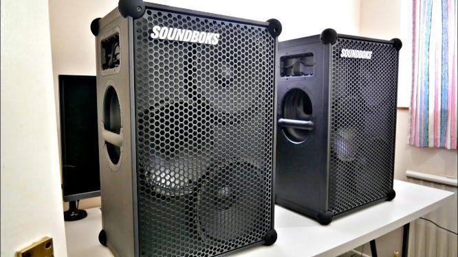 Steelasophical Steelband Soundboks 3 Speaker battery 001br