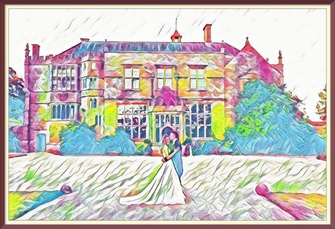 Steelasophical wedding day steelpan band wedding venue | Brympton House
