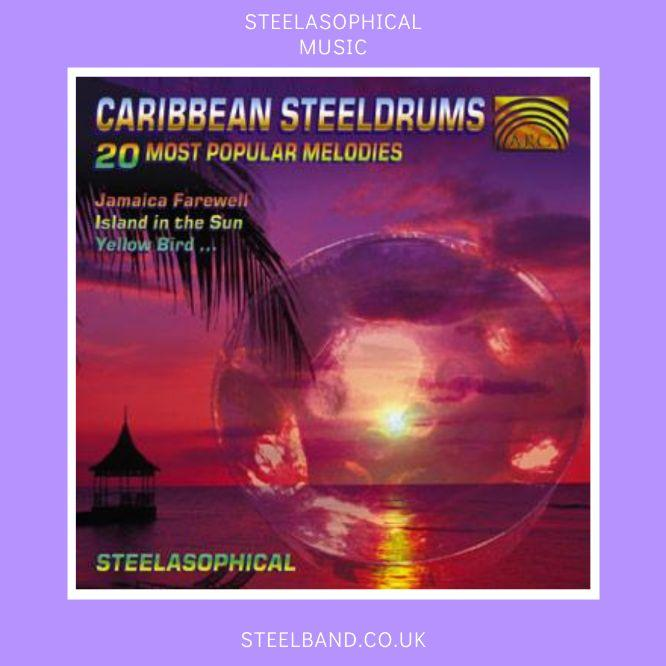 Steelasophical Steelpan band music CD 00iik