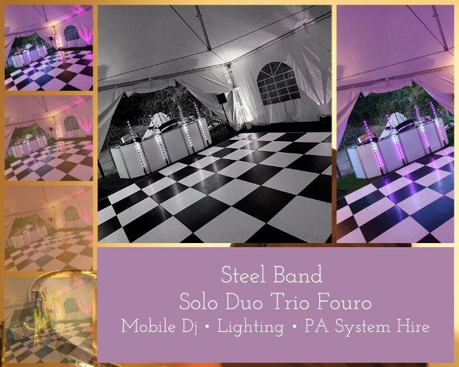 Hire a Steelasophical steel band for your wedding