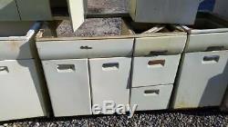 steel cabinet set