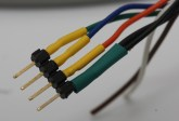 all wires with heatshrink complete