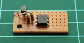 EOUT 4N25 opto board