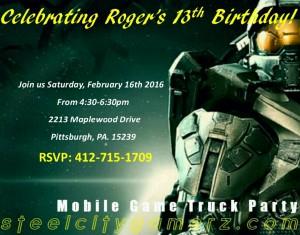 free birthday party invitations that