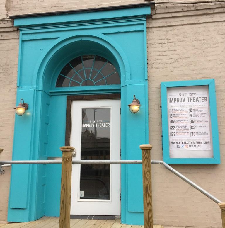 Steel City Improv Theater Front Door