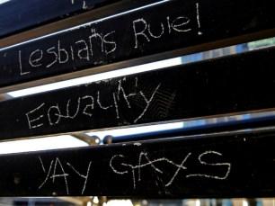 Lesbians Rule, Equality, Yay Gays