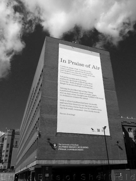 In Praise of Air - Simon Armitage Sheffield 2014
