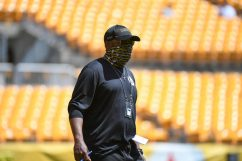 Pittsburgh Steelers Head Coach Mike Tomlin at Heinz Field during the Steelers 2020 Training Camp, Monday, Aug. 17, 2020 in Pittsburgh, PA. (Karl Roser / Pittsburgh Steelers)