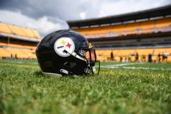 The Pittsburgh Steelers train at Heinz Field during the Steelers 2020 Training Camp, Monday, Aug. 24, 2020 in Pittsburgh, PA. (Karl Roser / Pittsburgh Steelers)