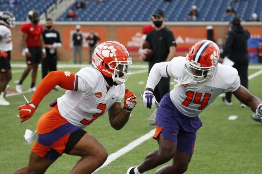 Senior Bowl: Clemson WR Cornell Powell on Transitioning to ...