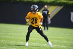 Pittsburgh Steelers safety Miles Killebrew (28) participates in the Organized Team Activities (OTAs), Tuesday May 25, 2021 at the UPMC Rooney Sports Complex. (Karl Roser / Pittsburgh Steelers)