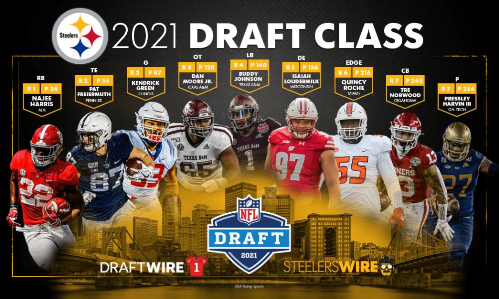 — pittsburgh steelers (@steelers) september 4, 2021. Pro Football Focus Pans Steelers 2021 Nfl Draft