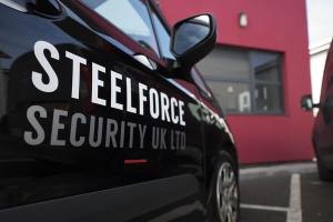 Steelforce Security Van