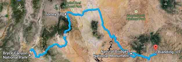 Terrain in Utah low res