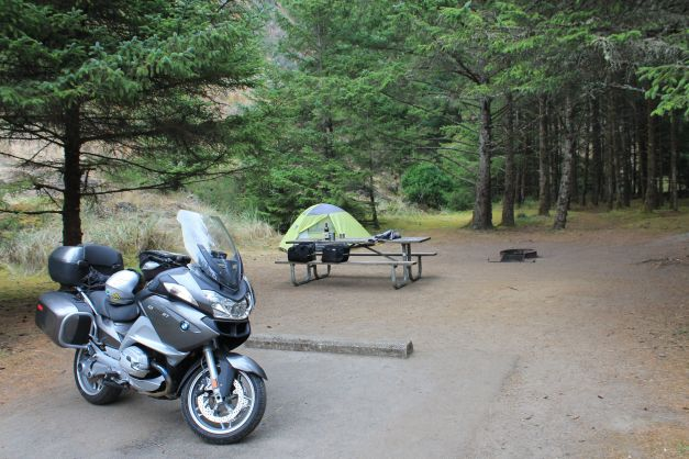 Cape Disappointment camp