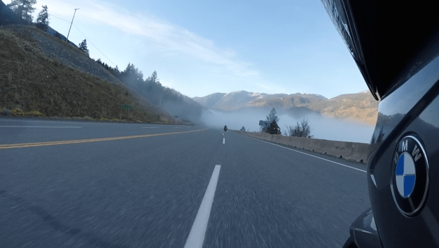 Southbound on Trans-Canadian Highway